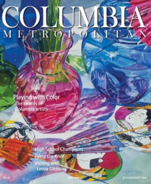 Columbia Metropolitan Cover - July Aug 2018